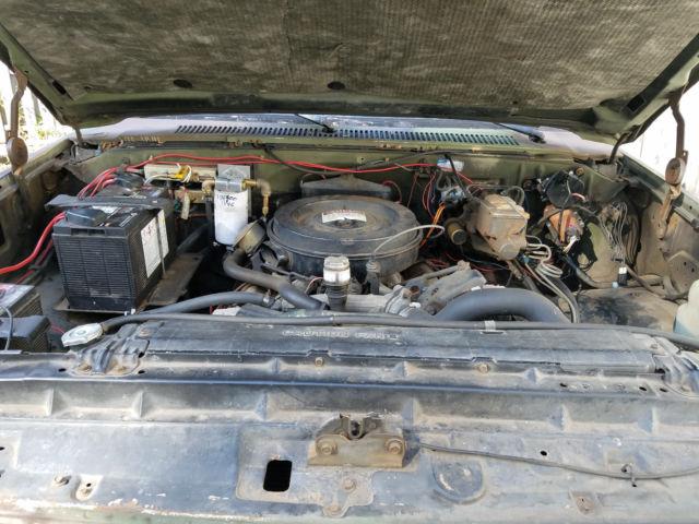 Chevy M1008 4x4 Army Truck K30 Cucv