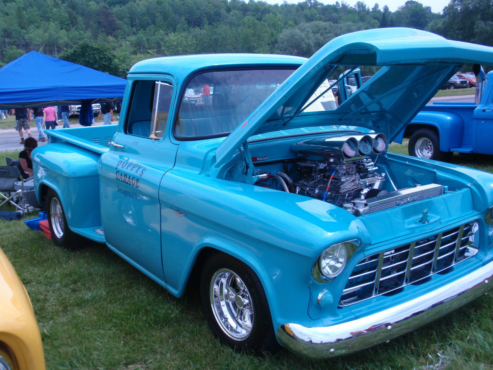 Chevy Pick Up Truck 1956 Supercharged Pro Street Classic Chevrolet 1954 Gauge Cluster Other Pickups