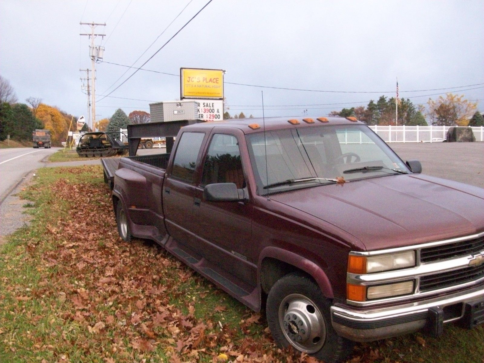chevy silverado 3500 1 ton diesel dually 1994 - Classic ...