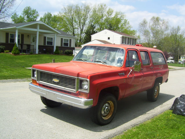 Chevy Suburban Classic Chevrolet Suburban 1974 For Sale