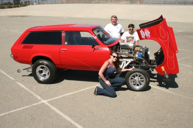 Optima Red Top >> CHEVY VEGA GASSER WAGON RACE DRAG RACE VINTAGE RATROD ...
