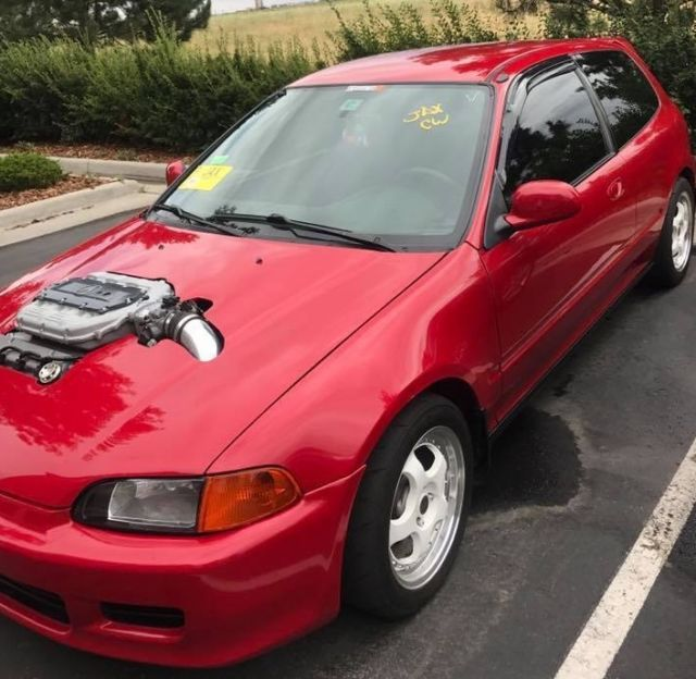 Civic SWAP J32A2 Vtec Type S ((from Acura CL 2006)) With