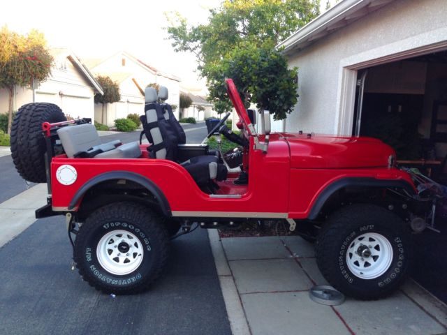 CJ 5 Red Kevlar Body Ground Up Restore Super Stock Beauty - Classic