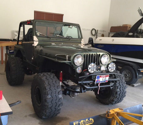 Lifted Jeep Renegade >> CJ5 Jeep Wrangler Lifted - Classic Jeep CJ 1979 for sale