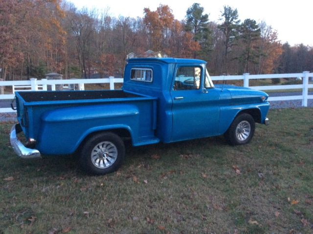 classic 1962 gmc series 1000 1 2 ton step side pickup truck classic gmc 1 2 ton short bed. Black Bedroom Furniture Sets. Home Design Ideas