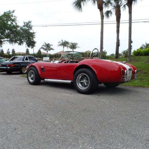 Classic 1967 67 Ford Shelby Cobra Replica Roadster