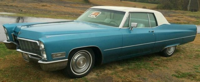 Classic 1968 cadillac coupe deville 2 dr hardtop 36xxx actual 1968 cadillac deville coupe deville publicscrutiny Image collections