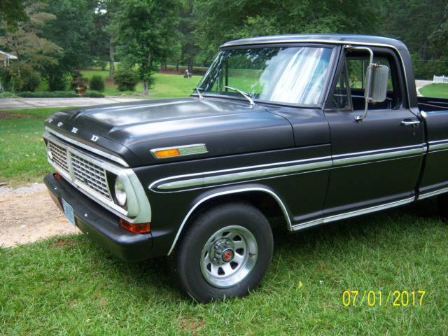 classic 1970 ford ranger xlt pickup classic ford other pickups 1970 for sale. Black Bedroom Furniture Sets. Home Design Ideas