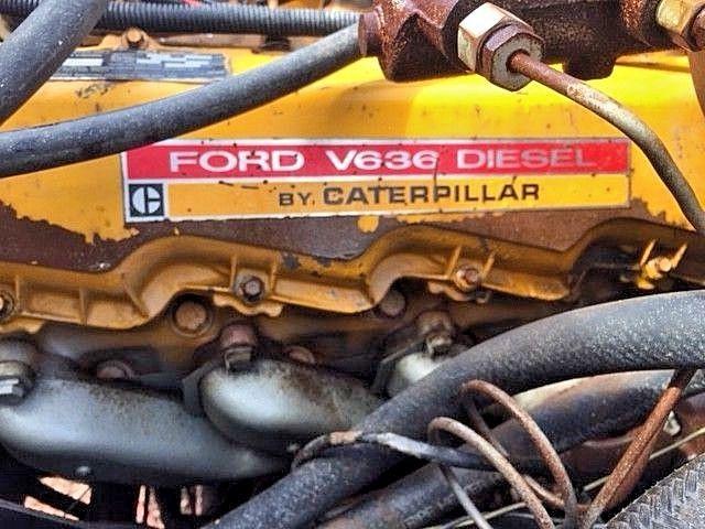 F250 Diesel For Sale >> CLASSIC !! 1975 Ford F250,Caterpillar V636 Diesel 4X4 Crew ...