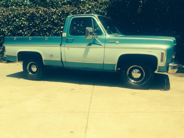 1977 chevy truck short bed