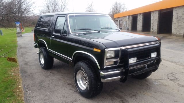 classic 1980 ford bronco new interior low miles good