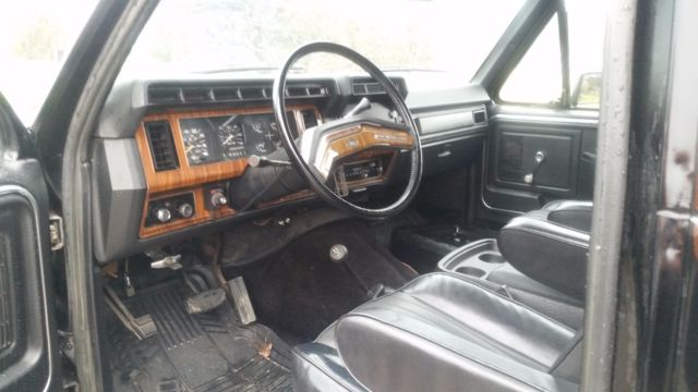 Classic 1980 Ford Bronco
