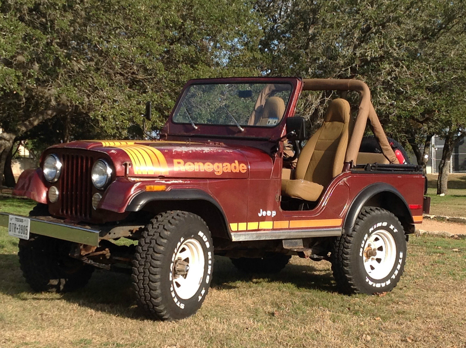 Classic 1980 Jeep Cj5 Renegade  Factory V8 With 4 Speed