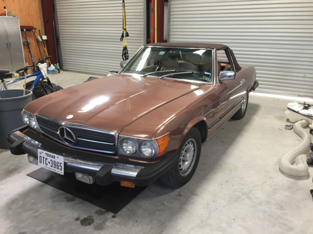 classic 1980 mercedes 450sl convertible classic mercedes benz sl class 1980 for sale. Black Bedroom Furniture Sets. Home Design Ideas