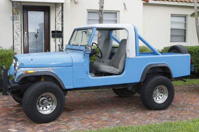 Jeeps For Sale In Dallas >> Classic 1982 Jeep CJ-8 Scrambler w/V8 Engine Conversion ...