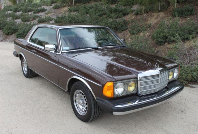Classic 1984 Mercedes Benz 300CD Turbo Diesel - Classic