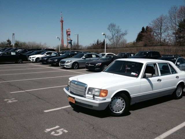 Classic 1991 mercedes benz 560 sel very low miles vintage for 1991 mercedes benz 560sel for sale