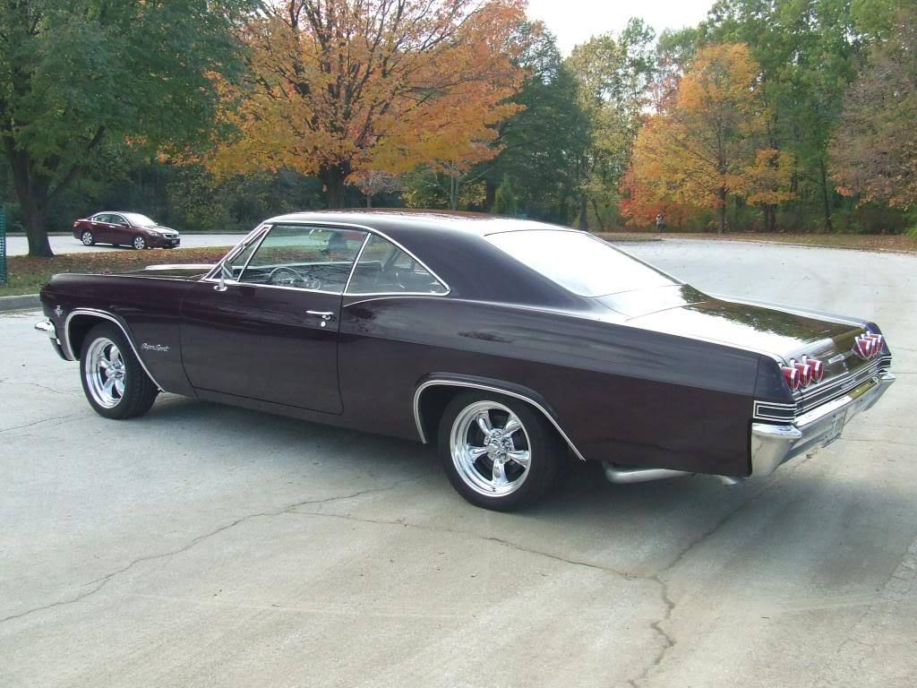 Classic 65 Chevrolet Impala Ss Resto Mod Two Engines