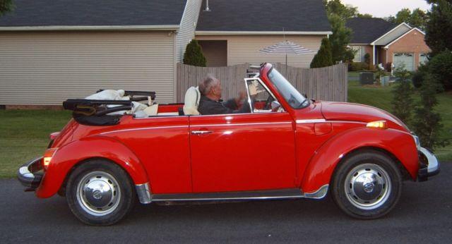 Classic 74 VW Super Beetle Convertable - Classic ...