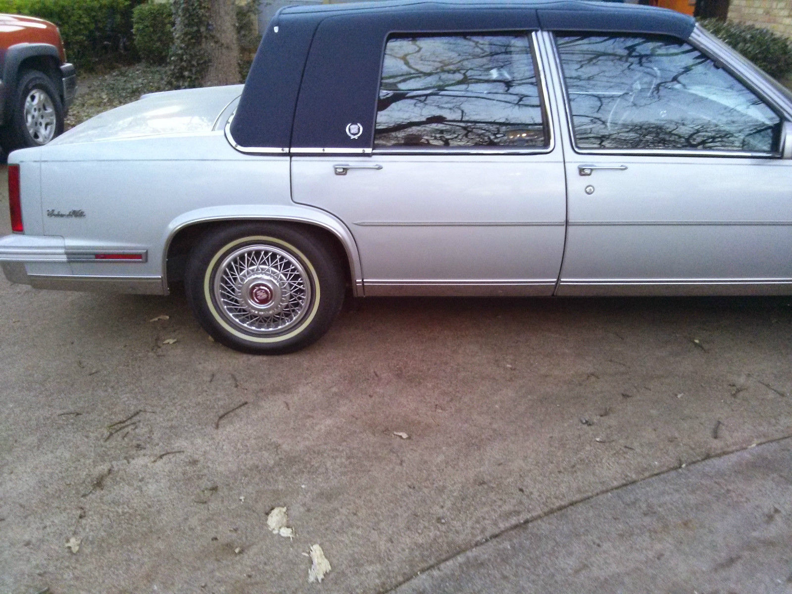 Classic Clean Excellent Condition Silver Blue Interior Leather Seats 1978 Cadillac Deville 1988