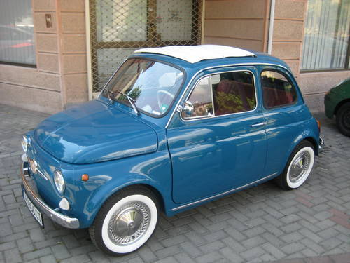 classic fiat 500 f from 1967 all original restored 2013. Black Bedroom Furniture Sets. Home Design Ideas