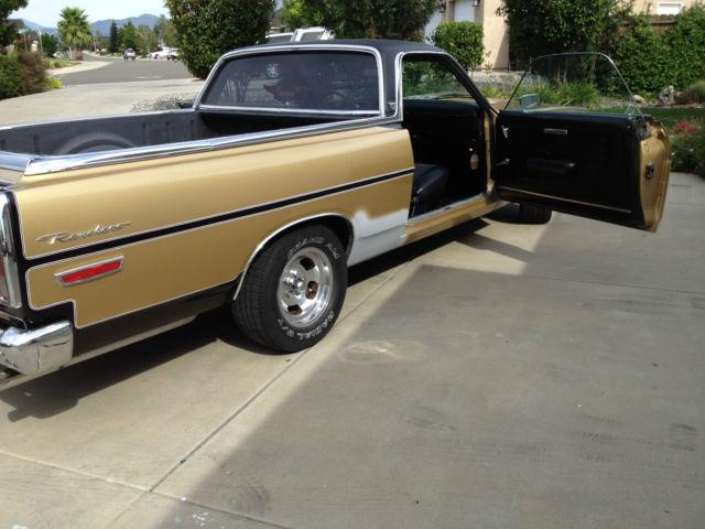 Classic Ford Ranchero GT, 390 Air Car, tons of new parts