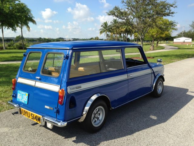 Classic Mini Austin Leyland Mini Clubman Estate 1973 Station