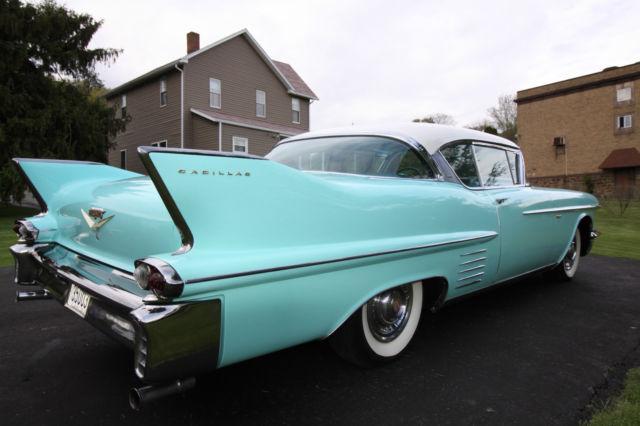 Classic Vintage 1958 Cadillac Coupe Deville Classic