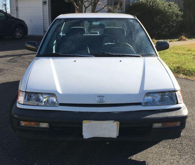 Clean 1991 Honda Civic Sedan