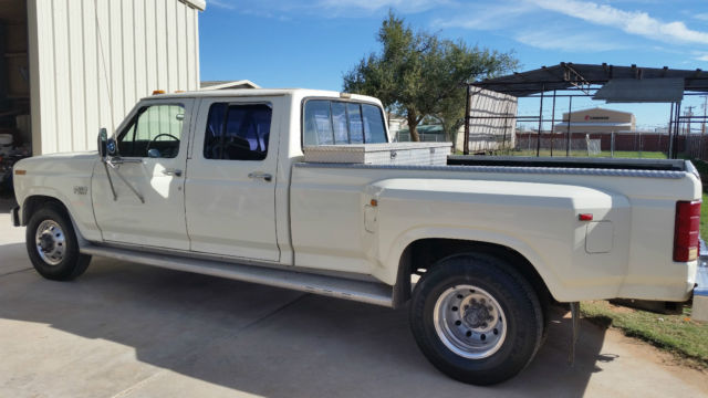 Clean Low Miles 1986 Ford F350 Crew Cab Dually Classic
