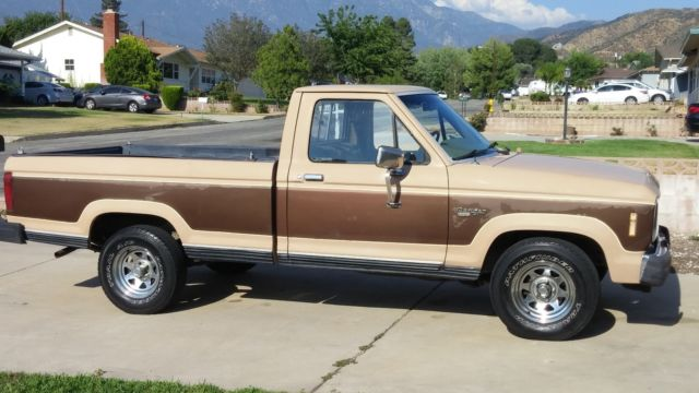 Clean Rustfree V Xlt Long Bed California Truck No Reserve Auction on 1984 Ford Ranger 2 8 V6