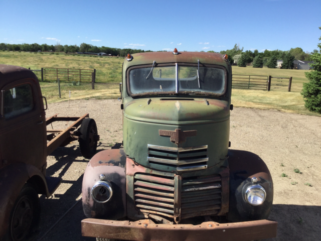 Coe Gmc Cabover 1941 Pickup Ford Dodge Chevy Rat Rod