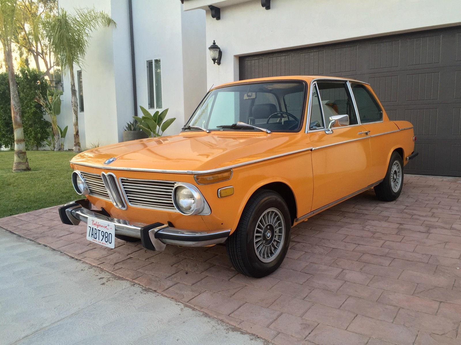 Colorado Orange Bmw 2002 Tii E10 Classic Bmw 2002 1973 For Sale
