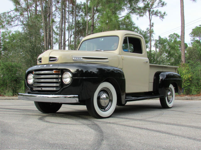 COMPLETE RESTORATION OF A 1948 FORD F1 4-SPEED FLATHEAD V8 CONCOURSE