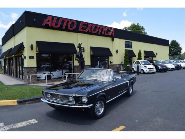 convertible gt recreation 302 ci4 speed manualfordblack classic ford mustang 1968 for sale. Black Bedroom Furniture Sets. Home Design Ideas