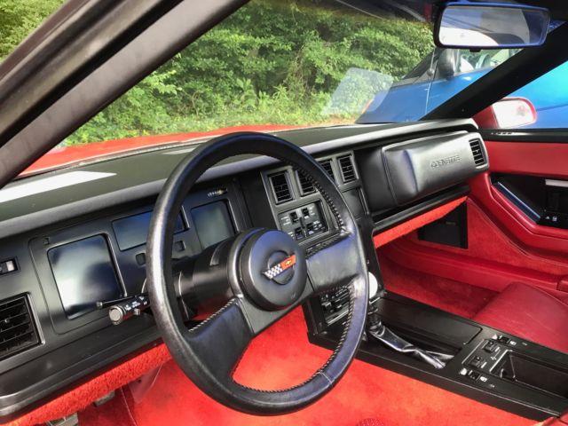 Corvette 1984 35k Miles Very Well Cared Pristine Interior No Reserve Classic Chevrolet