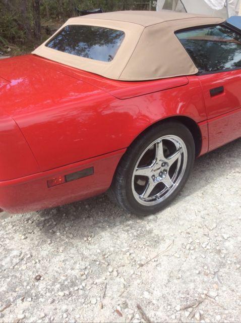 Corvette 91 Convertible Professional Rebuilt 5 7 Engine