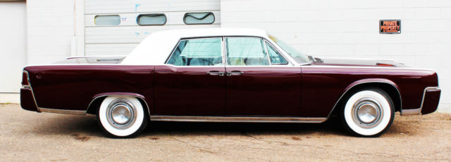 custom 1964 lincoln continental house of kolor brandywine kandy suede leather classic lincoln. Black Bedroom Furniture Sets. Home Design Ideas