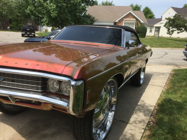 custom 1969 chevrolet impala on 32 inch rims classic chevrolet impala 1969 for sale. Black Bedroom Furniture Sets. Home Design Ideas