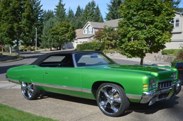 custom 1972 cheverolet impala convertible classic chevrolet impala 1972 for sale. Black Bedroom Furniture Sets. Home Design Ideas