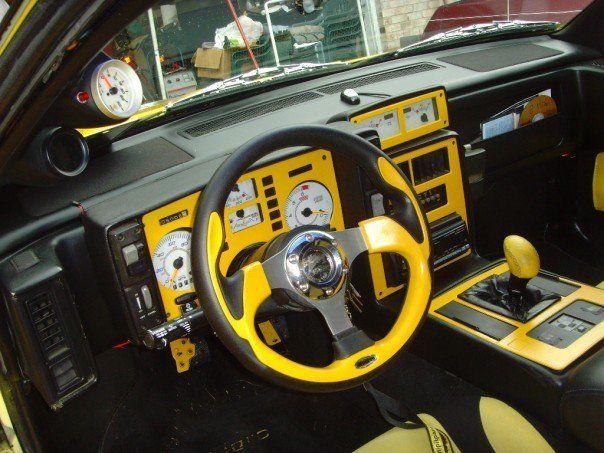 Custom 1985 1988 Pontiac Fiero Gt 3 4 Turbo 5 Speed Custom Body Classic Pontiac Fiero 1985