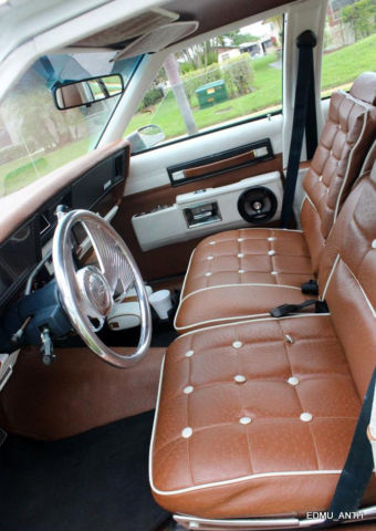 Custom 1986 chevy caprice brougham 5 7l 350 gm crate motor - Custom box chevy caprice interior ...