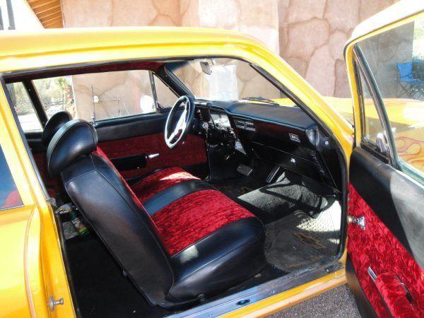 Custom 71 Nova W Custom Interior And Paint New 350 4bbl W 6500 Mi On Engine Classic Chevrolet