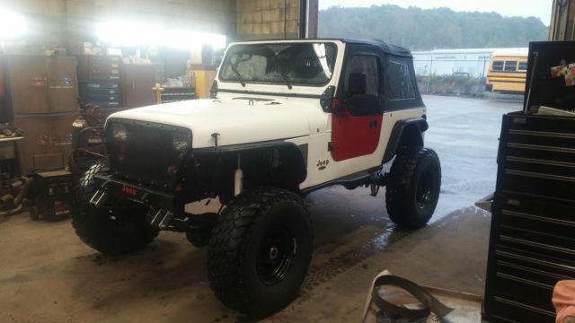Custom 92 Wrangler Yj 12 Valve Cummins Swap Classic Jeep