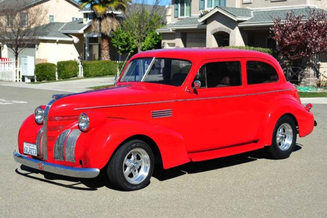 Custom Allsteel Restomod 1939 Pontiac Sedan Chevy 350 350