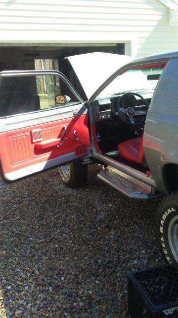 Custom Built 4wd Pinto Cruising Wagon Classic Ford Pinto