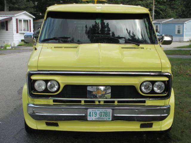 CUSTOM Chey Van - Classic Chevrolet G20 Van 1989 for sale