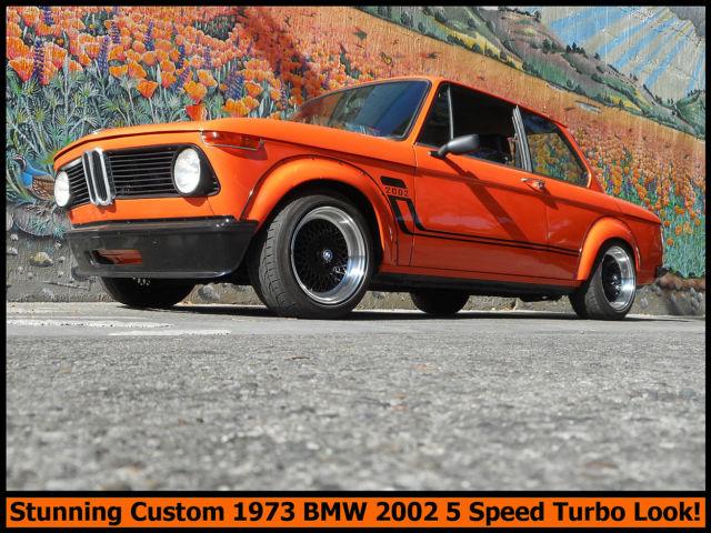 Custom Collectible Classic 1973 BMW 2002 5 Speed Dogleg
