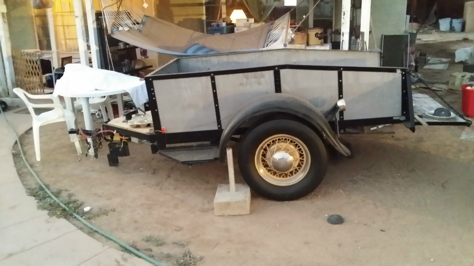 Custom Designed Amp Built Ford Quot Model A Quot Utility Trailer