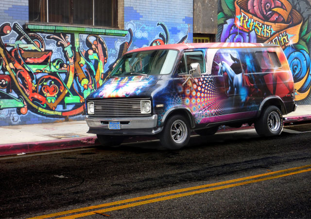 Custom Dodge B200 Van Wrapped Classic Dodge Other 1977